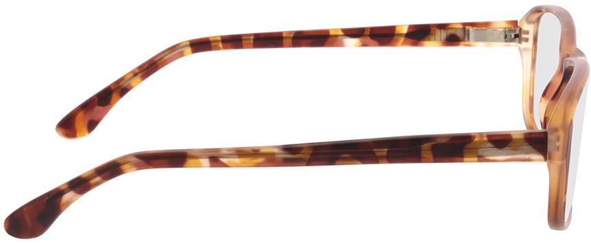 Picture of glasses model Benito-castanho-mosqueado in angle 90