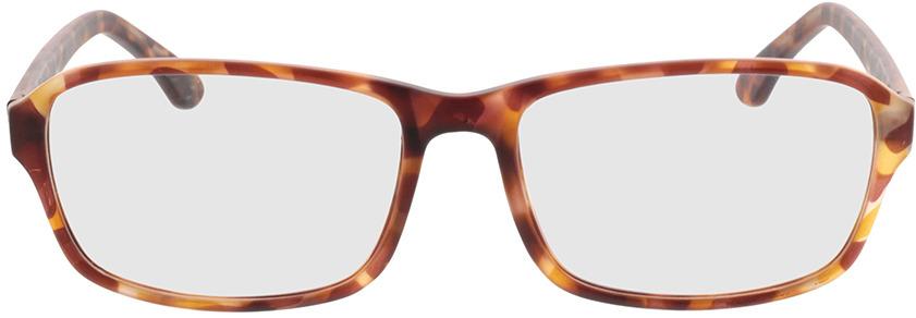 Picture of glasses model Benito-castanho-mosqueado in angle 0