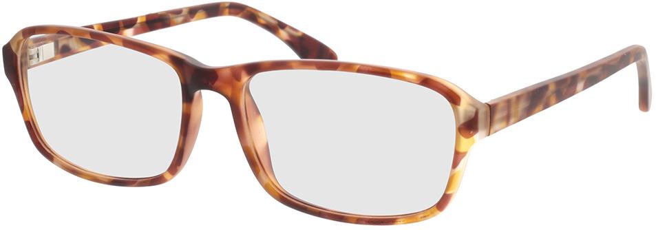 Picture of glasses model Benito-castanho-mosqueado in angle 330