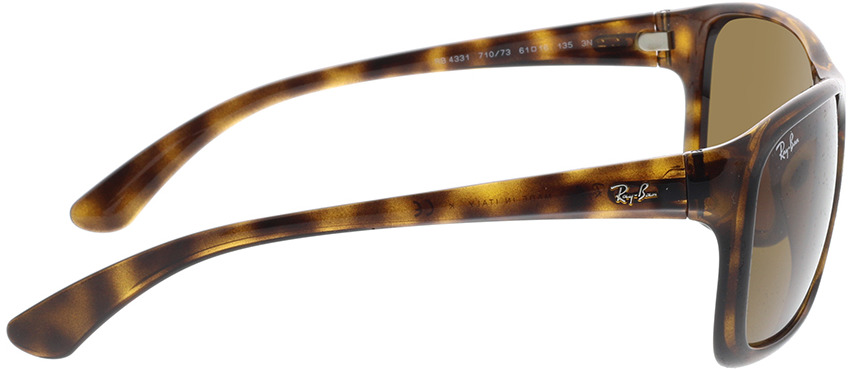 Picture of glasses model Ray-Ban RB4331 710/73 61-16 in angle 90