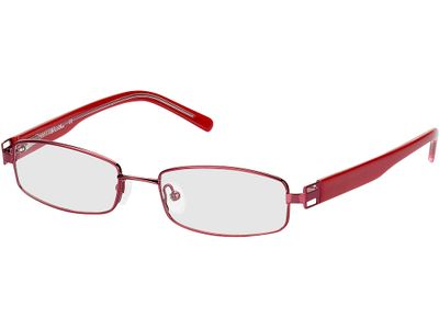 Brille Piacenza-rot