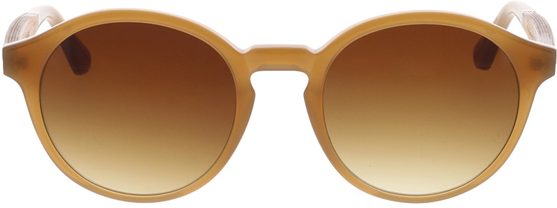 Picture of glasses model Wood Fellas Sunglasses Werdenfels zebrano/caramel 51-21 in angle 0
