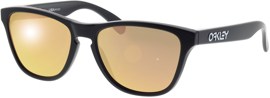 Picture of glasses model Oakley Frogskins XS OJ9006 900617 53-16 in angle 330