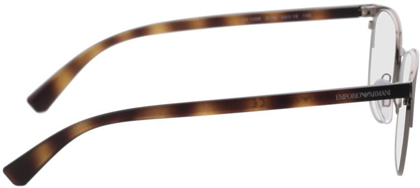 Picture of glasses model Emporio Armani EA1059 3179 53-19 in angle 90