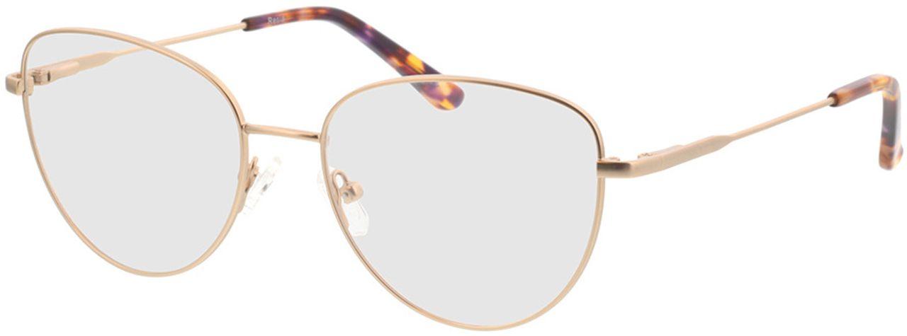 Picture of glasses model Resia-matt gold in angle 330