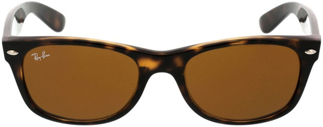 Picture of glasses model Ray-Ban New Wayfarer RB2132 710 52-18 in angle 0