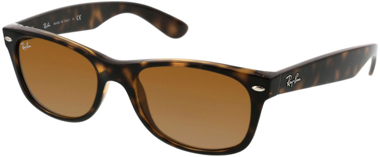 Picture of glasses model Ray-Ban New Wayfarer RB2132 710 52-18 in angle 330