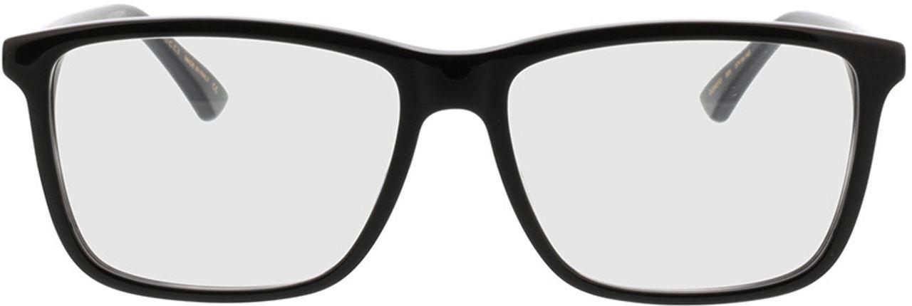 Picture of glasses model Gucci GG0407O-005 57-16 in angle 0