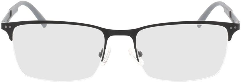 Picture of glasses model Justo-matt schwarz  in angle 0