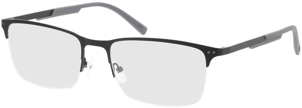 Picture of glasses model Justo-matt schwarz  in angle 330
