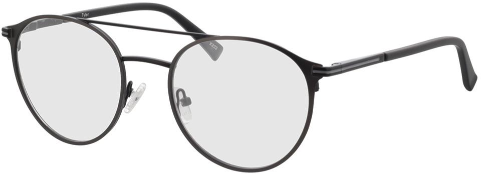 Picture of glasses model Tyler-matt schwarz/matt anthrazit in angle 330