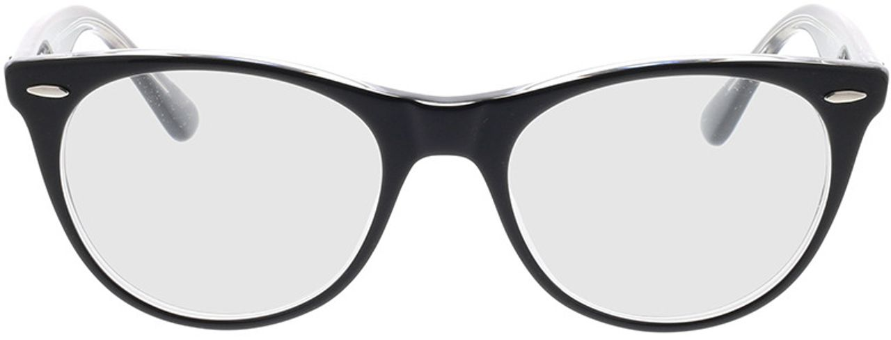 Picture of glasses model Ray-Ban RX2185V 2034 52-18 in angle 0