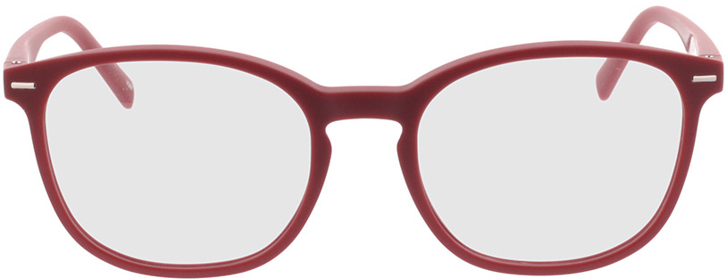 Picture of glasses model Olea-rouge in angle 0