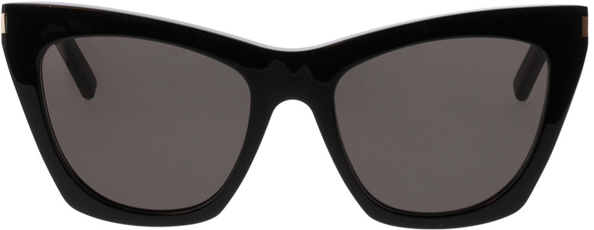 Picture of glasses model Saint Laurent SL 214 KATE-001 55-20 in angle 0