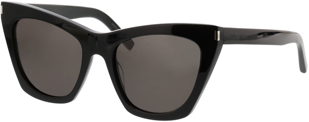 Picture of glasses model Saint Laurent SL 214 KATE-001 55-20 in angle 330