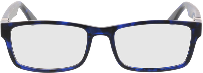 Picture of glasses model Tavian-blau-meliert in angle 0
