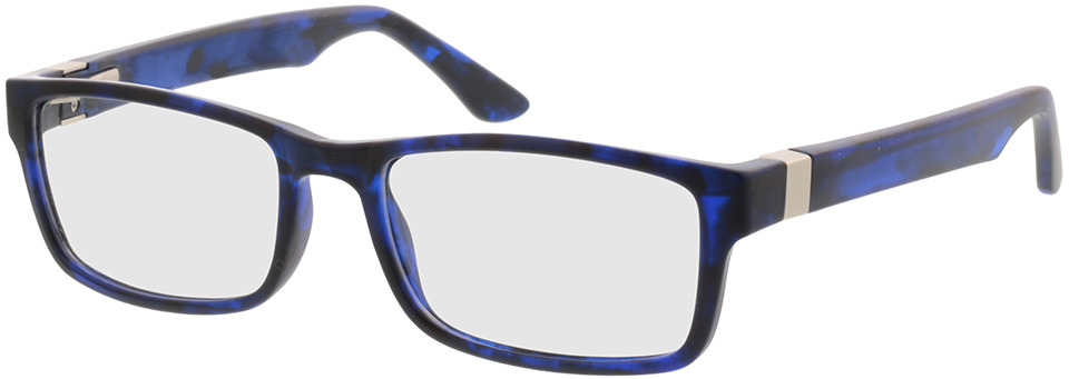 Picture of glasses model Tavian-blau-meliert in angle 330