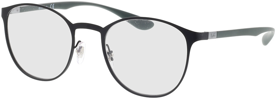 Picture of glasses model Ray-Ban RX6355 3098 50-20 in angle 330