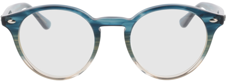 Picture of glasses model Ray-Ban RX2180V 8146 49-21 in angle 0
