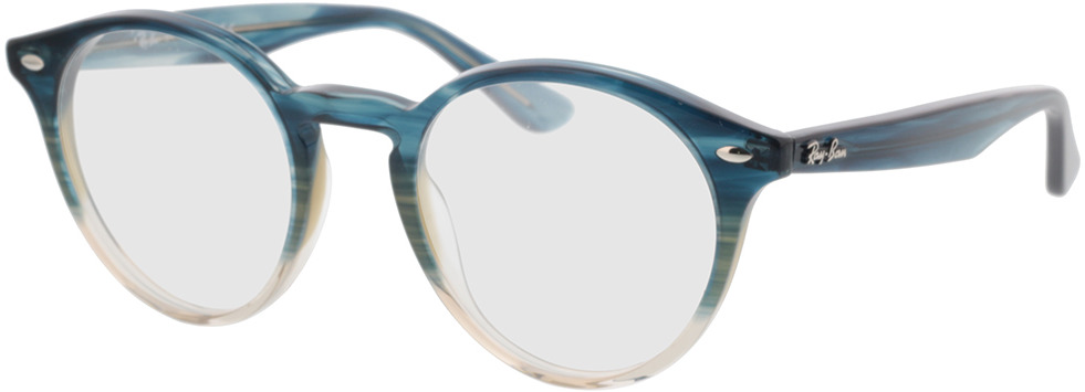 Picture of glasses model Ray-Ban RX2180V 8146 49-21 in angle 330