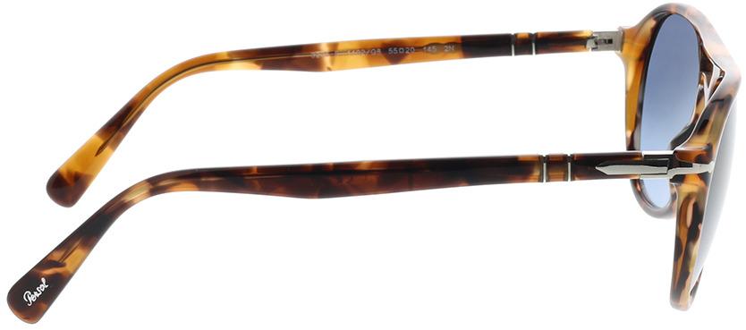 Picture of glasses model Persol PO3235S 1102Q8 55-20 in angle 90