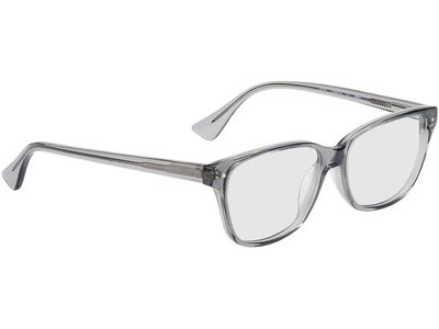 Brille Topeka-transparent grau