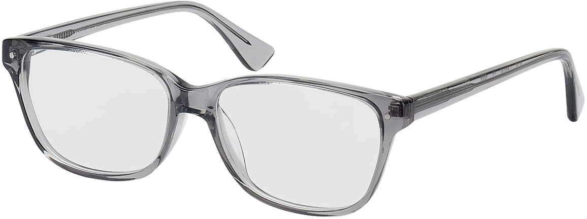 Picture of glasses model Topeka transparant/Grijs in angle 330