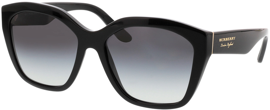 Picture of glasses model Burberry BE4261 30018G 57-17 in angle 330