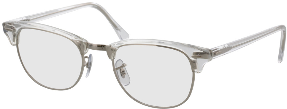 Picture of glasses model Ray-Ban Clubmaster RX5154 2001 51-21 in angle 330