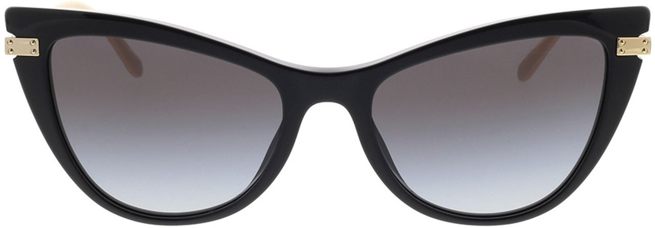 Picture of glasses model Dolce&Gabbana DG4381 501/8G 54-18 in angle 0