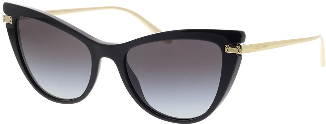 Picture of glasses model Dolce&Gabbana DG4381 501/8G 54-18 in angle 330