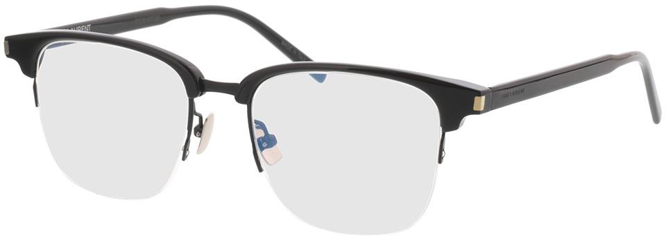 Picture of glasses model Saint Laurent SL 189 SLIM-001 51-18 in angle 330