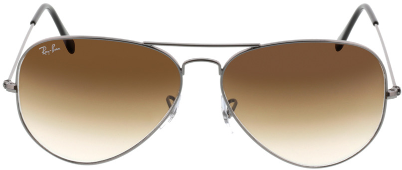 Picture of glasses model Ray-Ban Aviator Large Metal RB3025 004/51 62-14 in angle 0