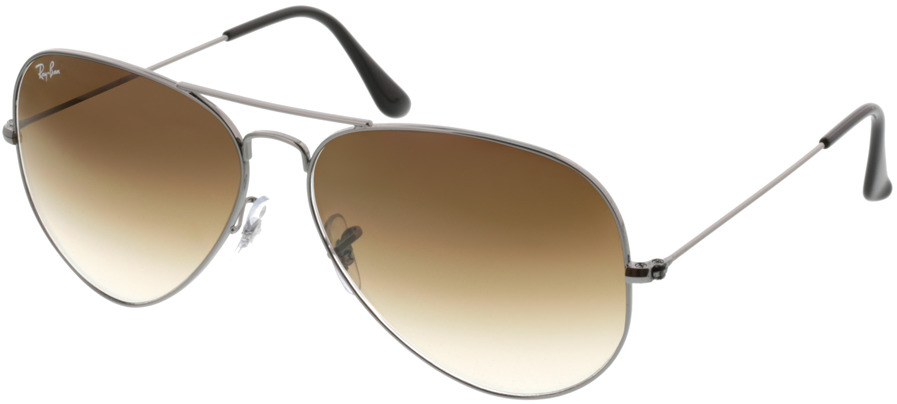 Picture of glasses model Ray-Ban Aviator Large Metal RB 3025 004/51 62-14