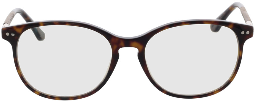 Picture of glasses model Wood Fellas Optical Prospect walnut/havana 54-17 in angle 0