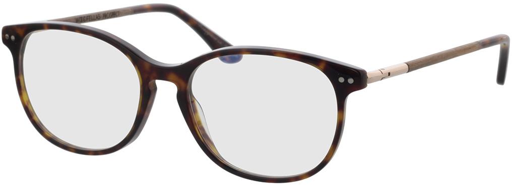 Picture of glasses model Wood Fellas Optical Prospect walnut/havana 54-17 in angle 330