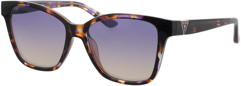 Picture of glasses model Guess GU7776 83Z 54-16 in angle 330