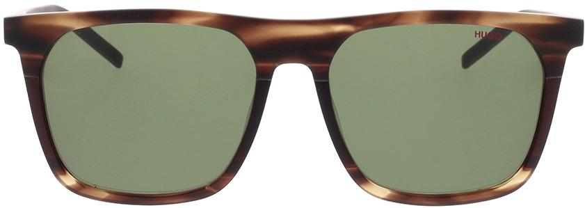 Picture of glasses model Hugo HG 1086/S BU0 56-17 in angle 0