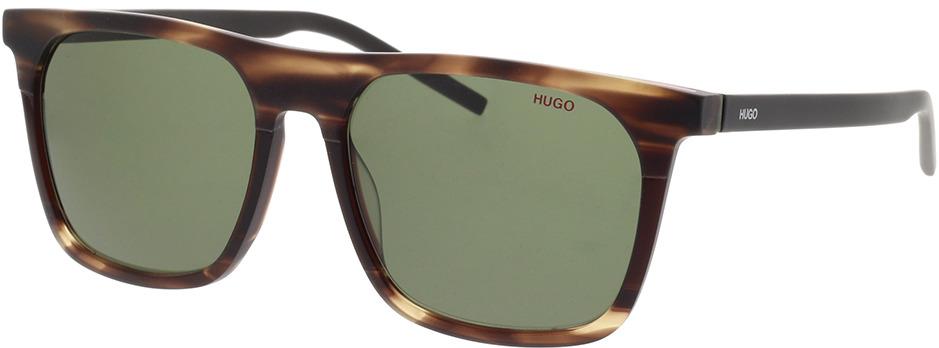 Picture of glasses model Hugo HG 1086/S BU0 56-17 in angle 330