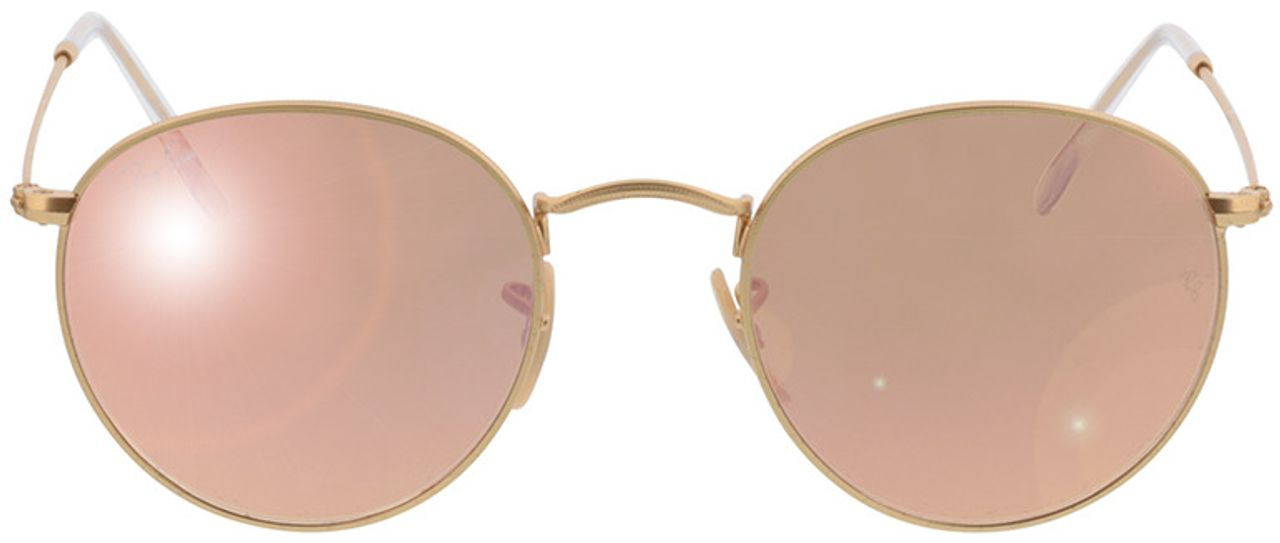 Picture of glasses model Ray-Ban Round Metal RB 3447 112/Z2 50-21 in angle 0