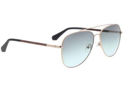 Brille Wood Fellas Sunglasses Nesselburg walnut/gold matte 58-14