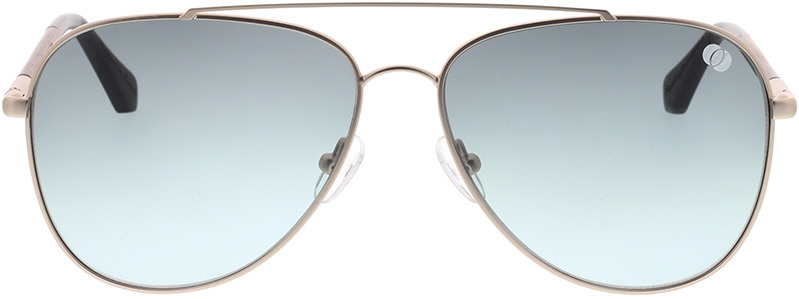 Picture of glasses model Wood Fellas Sunglasses Nesselburg walnut/gold matte 58-14 in angle 0
