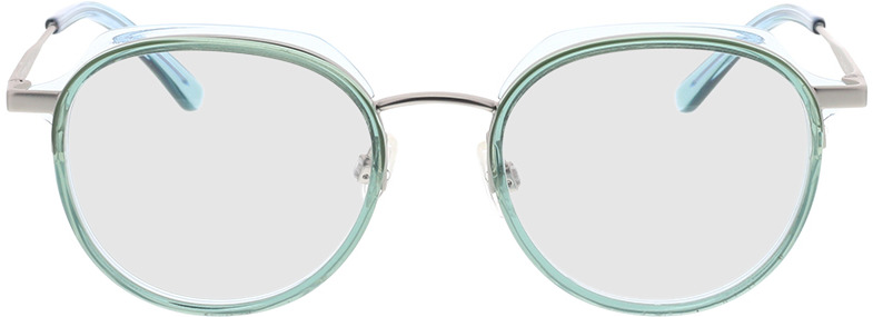 Picture of glasses model Comma, 70078 52 turquoise 48-19 in angle 0