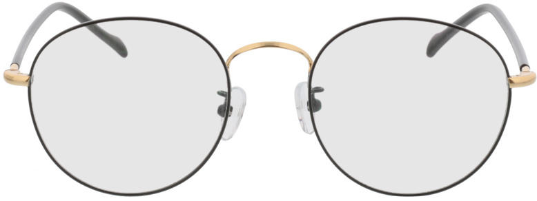 Picture of glasses model Concorde zwart/Goud in angle 0