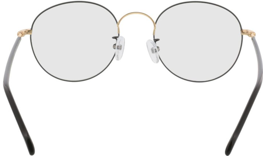 Picture of glasses model Concorde-black-gold in angle 180