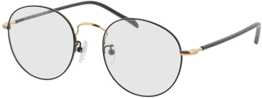 Picture of glasses model Concorde-black-gold in angle 330