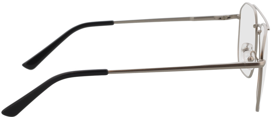 Picture of glasses model Berry-silber/schwarz in angle 90