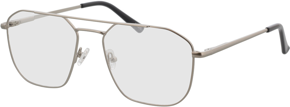 Picture of glasses model Berry-silber/schwarz in angle 330