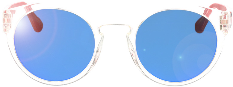 Picture of glasses model Tommy Hilfiger TH 1555/S QM4 49-23 in angle 0