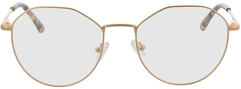 Picture of glasses model Mabel-gold in angle 0